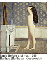Nude Before a Mirror, 1955, Balthus ©The Metropolitan Museum of Art, Robert Lehman Collection, 1975